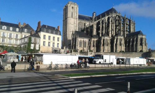 Place des Jacobins, Cathédrale Saint Julien, LE MANS